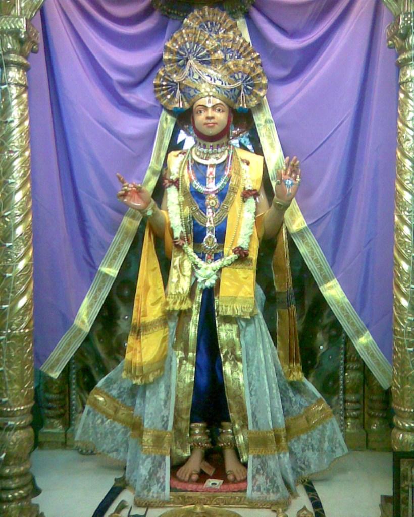 Ghanshyam maharaj of rang Mahol, Kalupur swaminarayan mandir