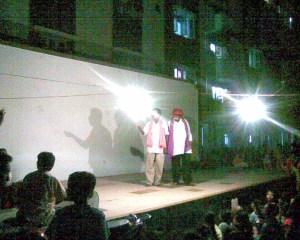 performance under light-Bhawai...
