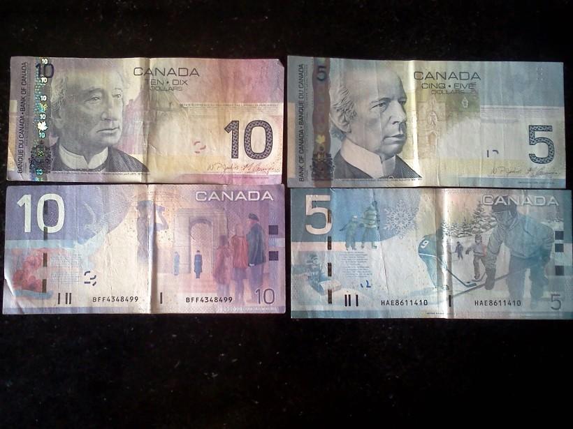 કેનેડીયન ડોલર્સ